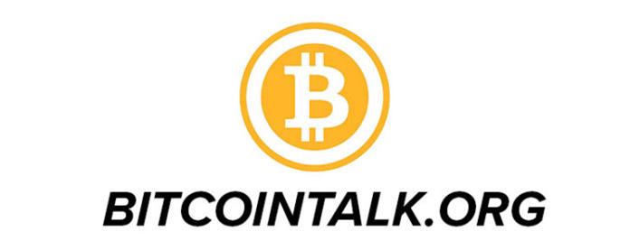 thông tin dự án trên bitcointalk
