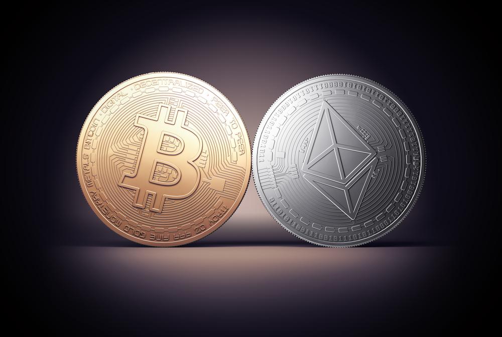 so sánh ethereum và bitcoin
