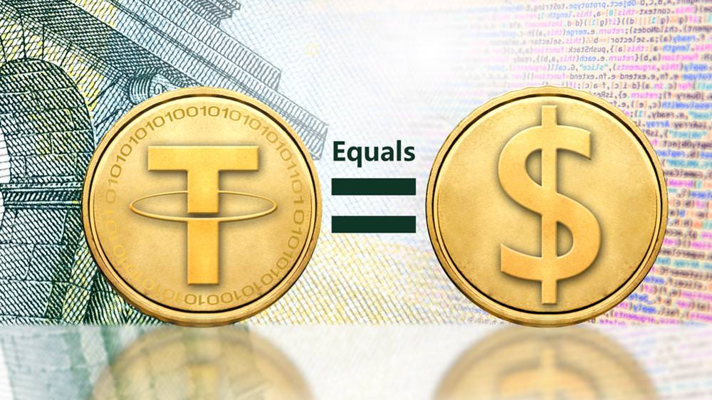 tỉ lệ USD tether