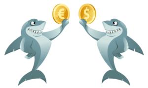 cá mập cryptocurrency
