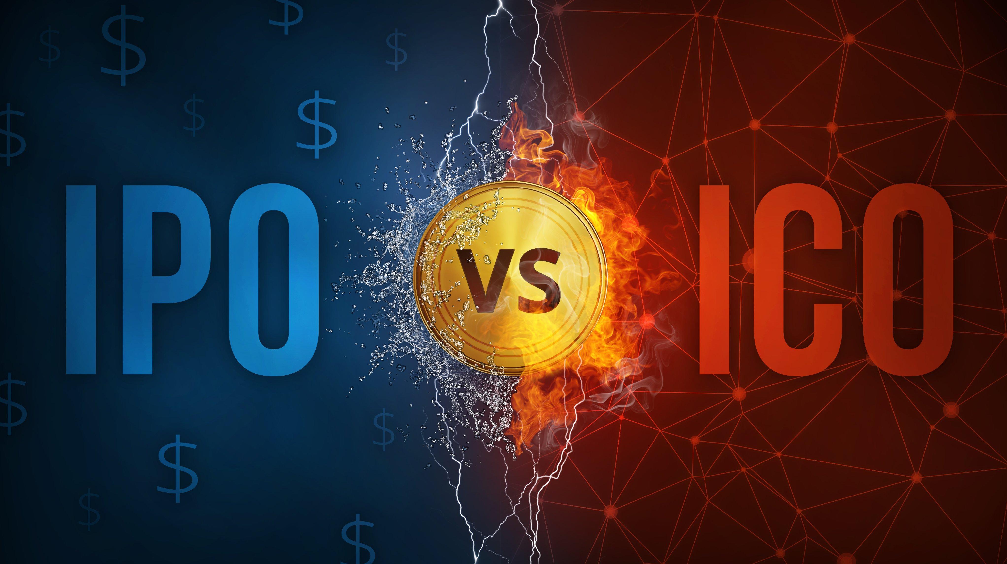 Các điểm khác biệt giữa ICO và IPO