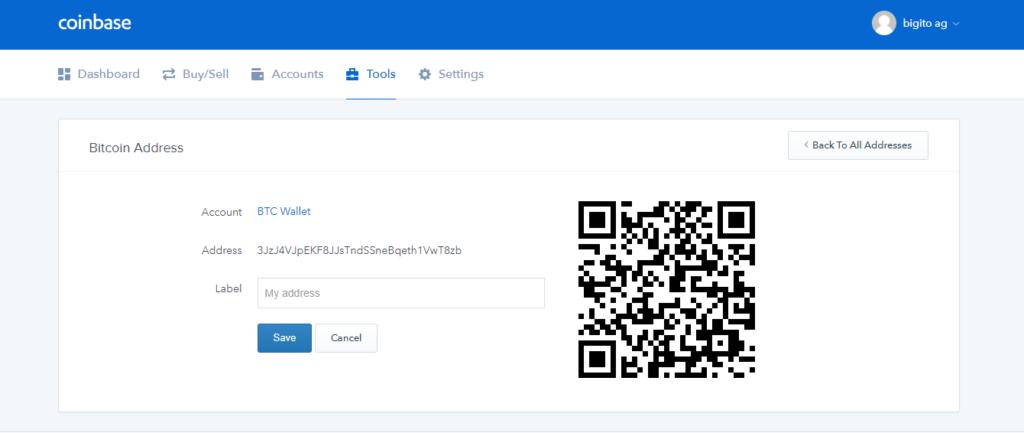 nhận quỹ bitcoin