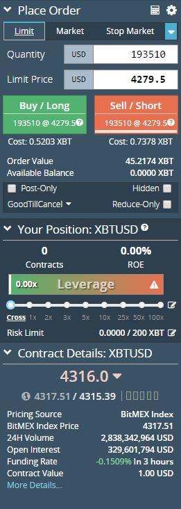 Cách giao dịch trên Sàn BitMEX 2