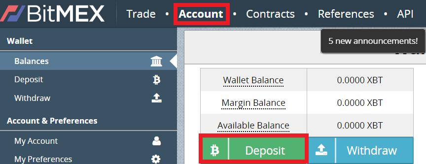 Cách giao dịch trên Sàn BitMEX