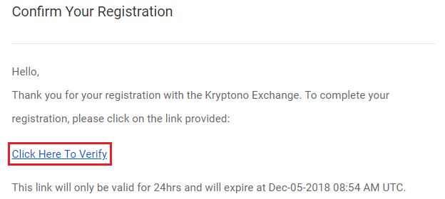 Hướng dẫn tạo tài khoản Kryptono 2