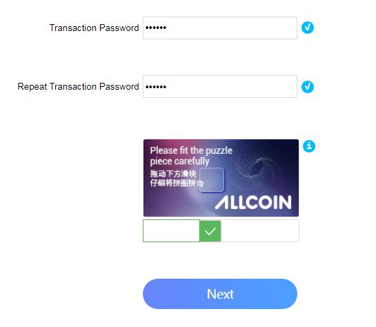 Hướng dẫn tạo tài khoản trên Sàn Allcoin 2
